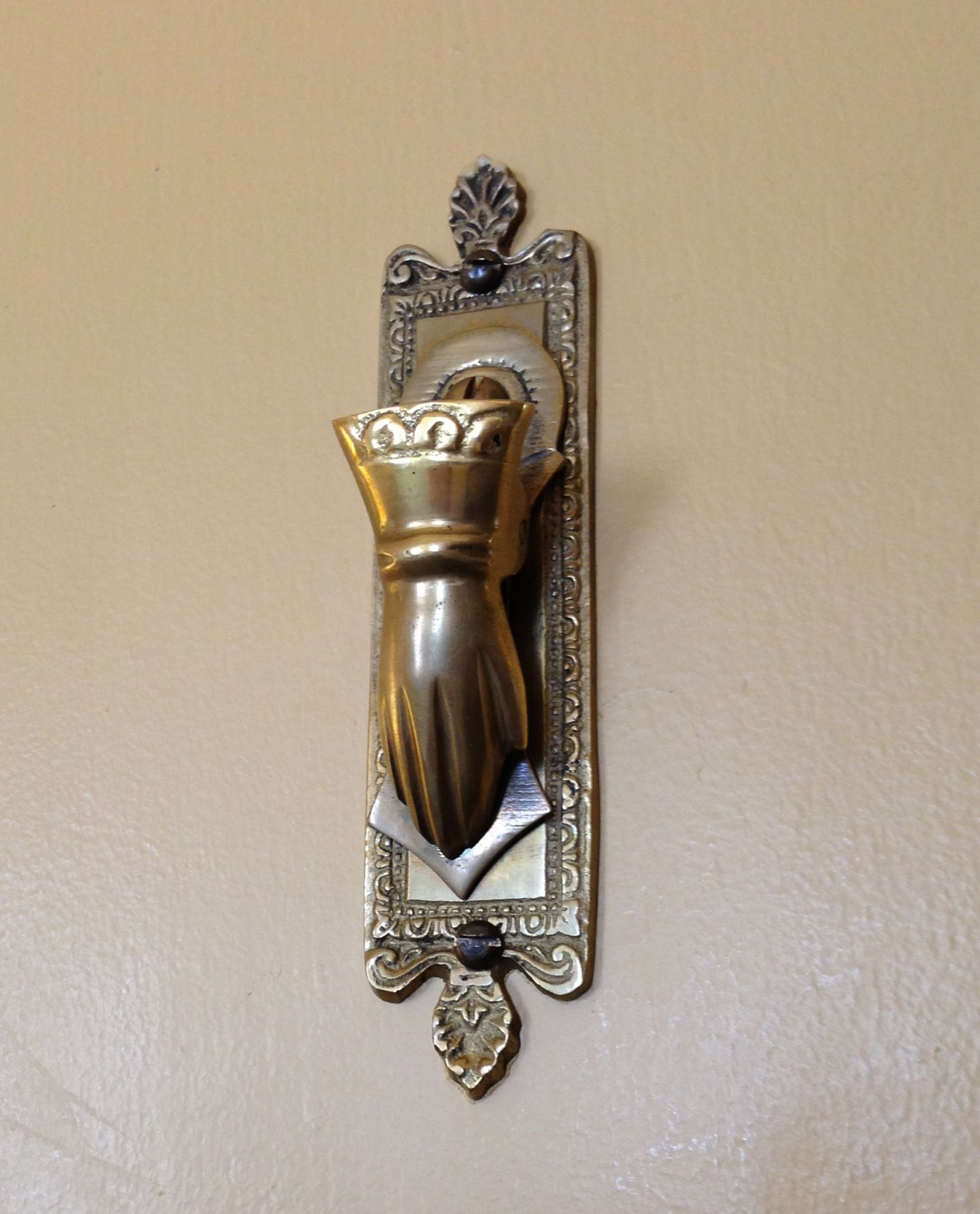 Art deco door knocker ashland springs hotel coolness pinterest