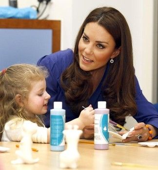 Catherine, Duchess of Cambridge, also known as Kate Middleton, brings smiles to…