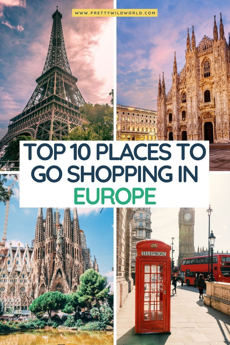 Shopping in Europe | travel in europe, top europe destinations, travel tips for europe, europe vacation, travel tips europe, europe travels, europe travel guide, europe adventure, travelling europe, europe cities, visit europe, europe tips | top europe destinations cities #europe #traveldestinations #traveltips #travelguide #travelhacks #bucketlisttravel #amazingdestinations #travelideas #traveltheworld