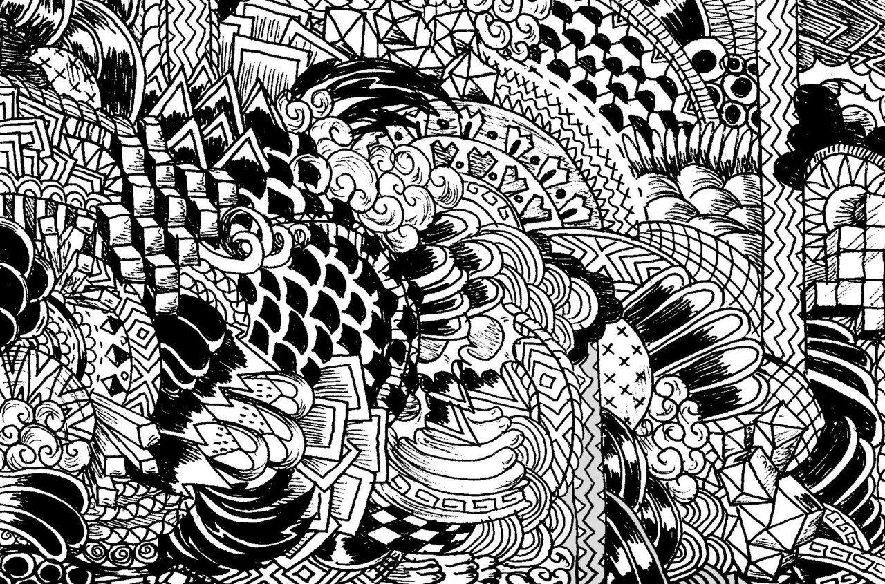 Free Black White Pattern Tumblr