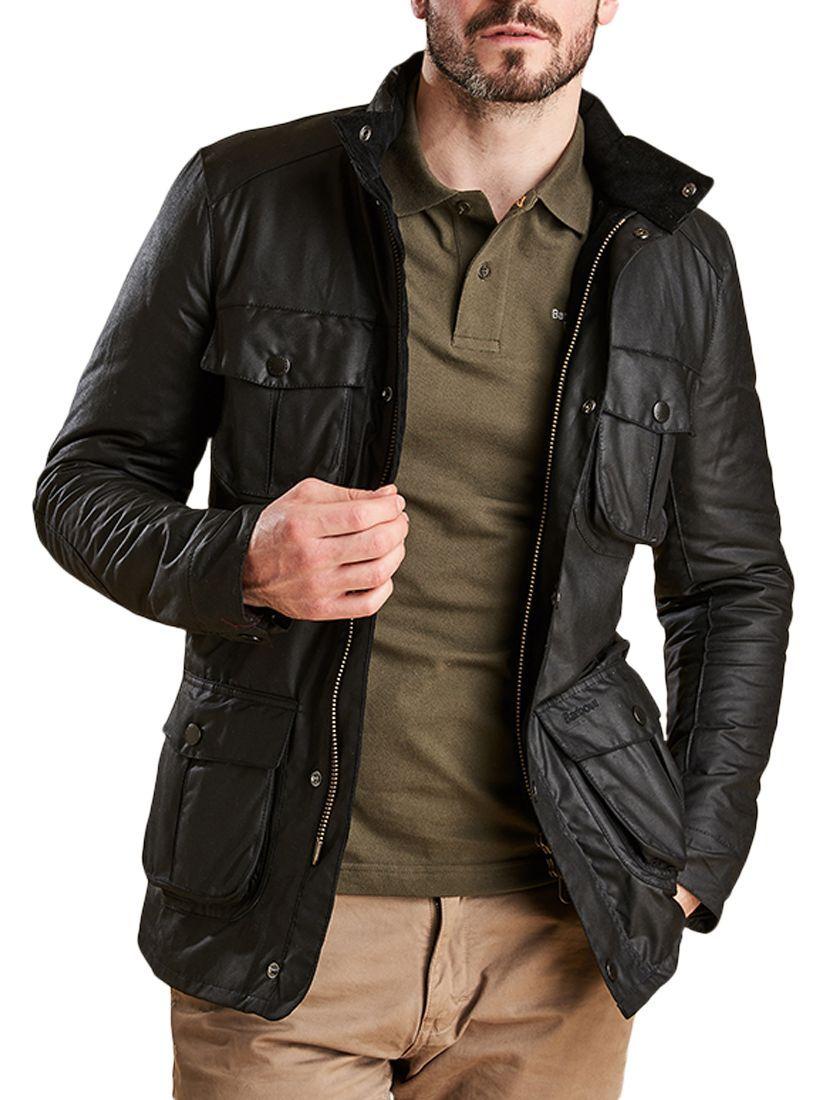 barbour corbridge leather jacket