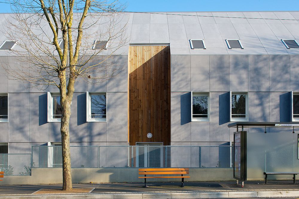 Apartment Building In Melun France Bm Architectes