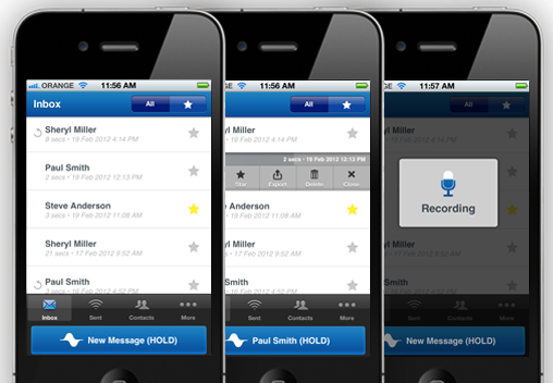 Wavedeck App Reinvents Instant Voice Messages for iPhone