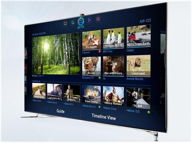 New Samsung Led And Plasma Tvs For 2013 Samsung Smart Tv Smart
