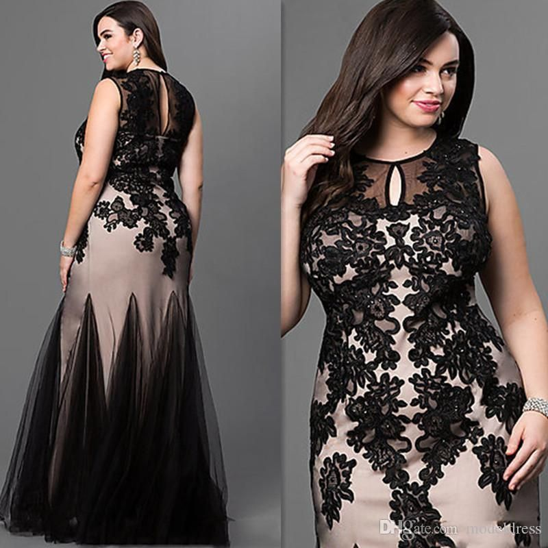 ee3878869ef Chic High Low Sequined Plus Size Prom Dresses Sleeves V Neck A Line Formal  Dress Teffeta Cheap Evening Gowns Evening Plus Size Dresses Formal Plus Size  ...
