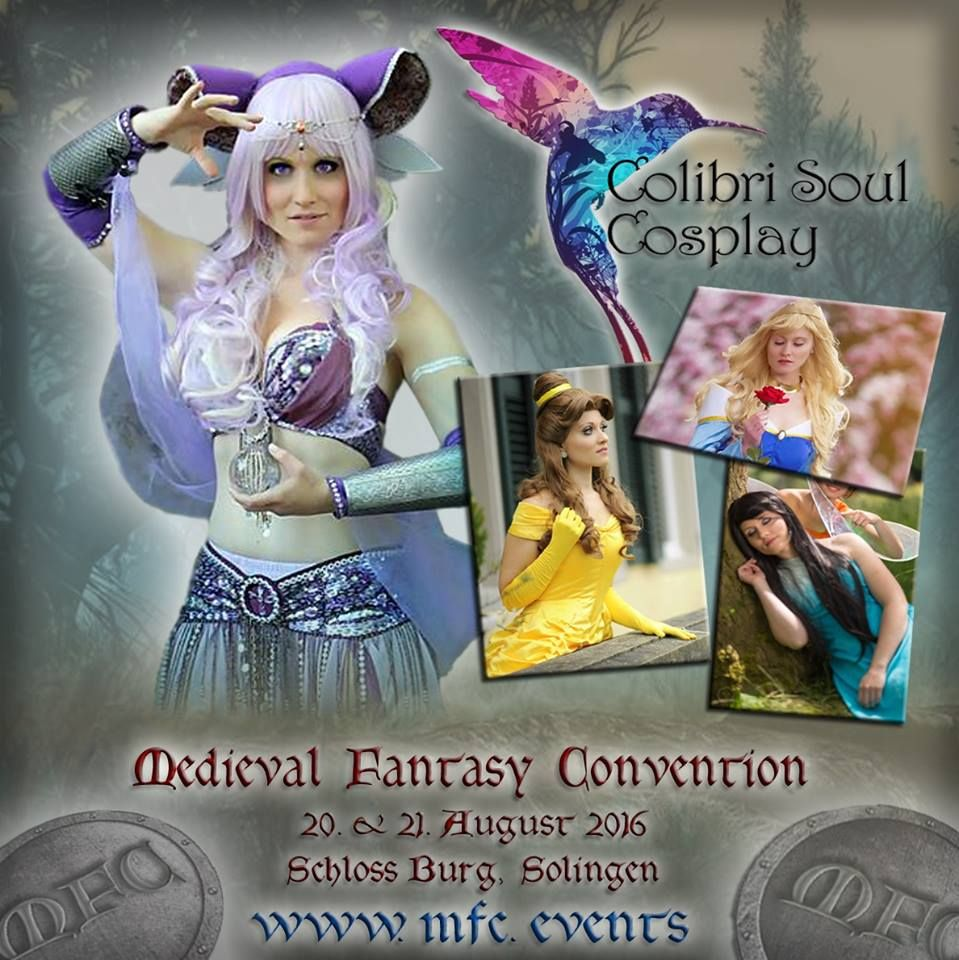 Special Guest Colibrisoulcosplay Mfc Mfcon Fantasy Cosplay