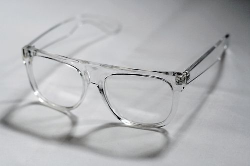 Transparent, see-through glasses frame | Frames in 2018 | Glasses ...