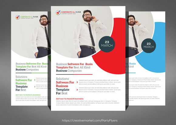 It Software Flyers Template By Party Flyers On Creativemarket