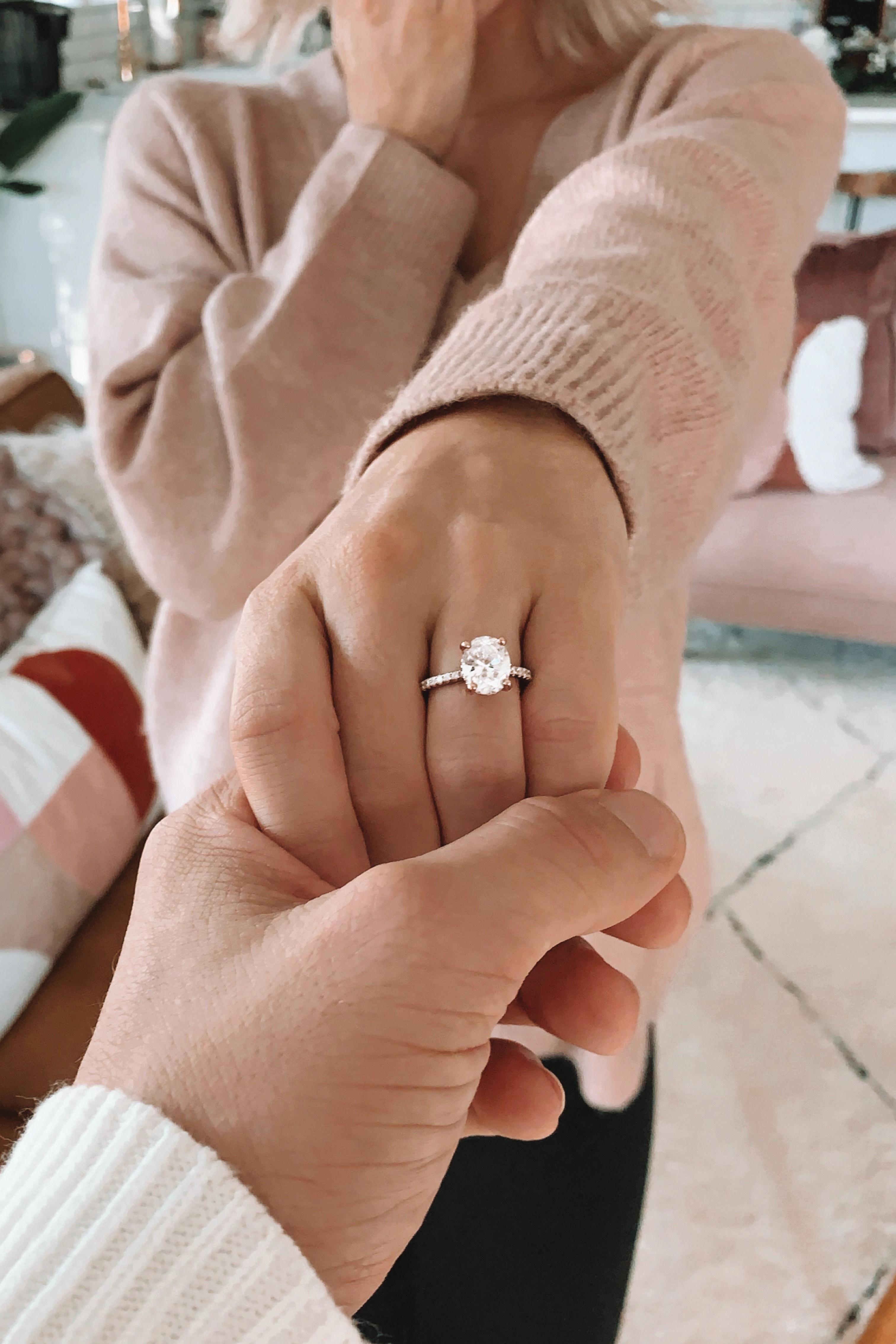 Photo of #wedding rings Aquamarine engagement ring rose gold Vintage engagement ring Oval…