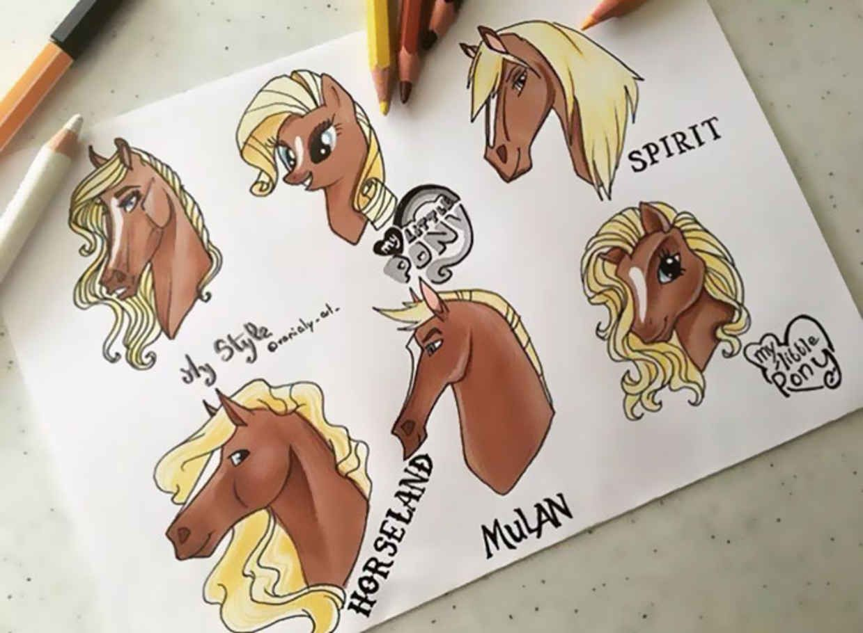 Artist S Are Reimagining Their Own Work In Various Cartoon Styles With Amazing Results Cartoon Styles Different Drawing Styles Different Art Styles