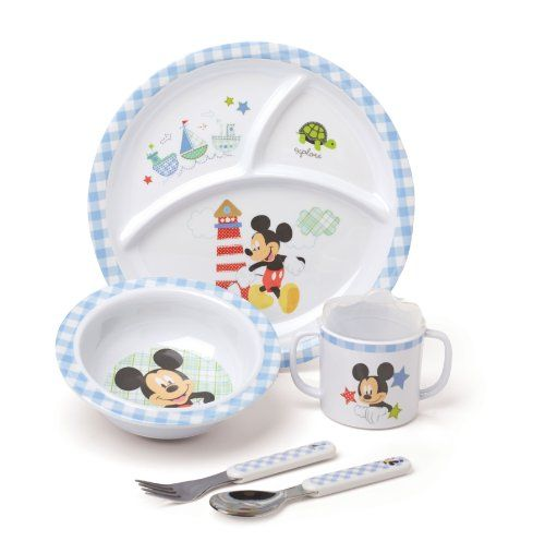 Kids Preferred Disney Baby Melamine Set Mickey Mouse Disney Http Www Amazon Com Dp B00ivndzau Ref Cm Sw R Pi Baby Disney Baby Mickey Mouse Baby Minnie Mouse