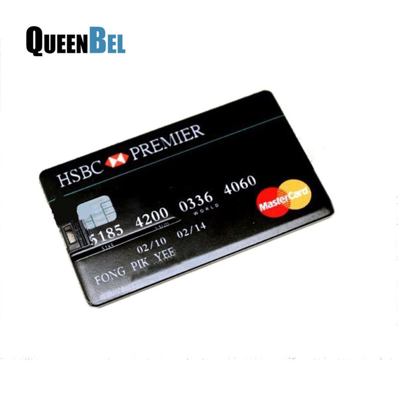 HSBC Credit card master card usb flash drive pen drive 16GB 32GB ...