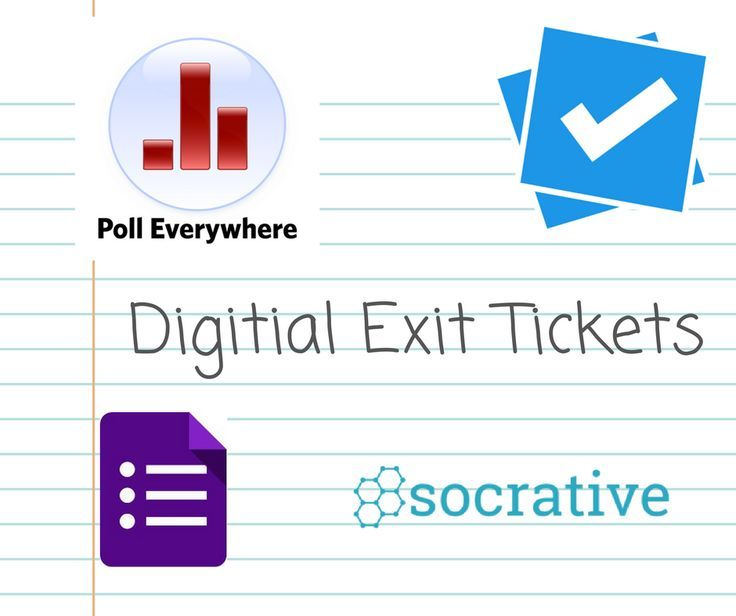 Of My Favorite Resources For Digital Exit Tickets  Educational