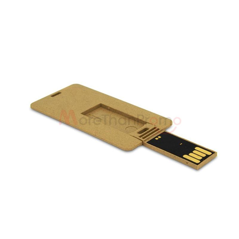 Degradable Business Card Usb Flash Drives Paper Card Businesscard