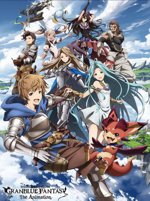 Granblue Fantasy The Animation Bluray Bd Episodes 480p 720p English Subbed Download Anime Animation Anime Shows
