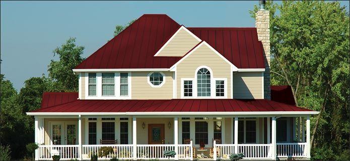 Best Burgundy Pro Snap And Ivory Siding Exterior House Colors 640 x 480