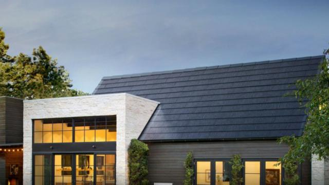 Tesla S New Solar Roof Costs Less Than A New Roof Plus Solar Panels Solar Panels Roof Solar Roof Tiles Solar Roof