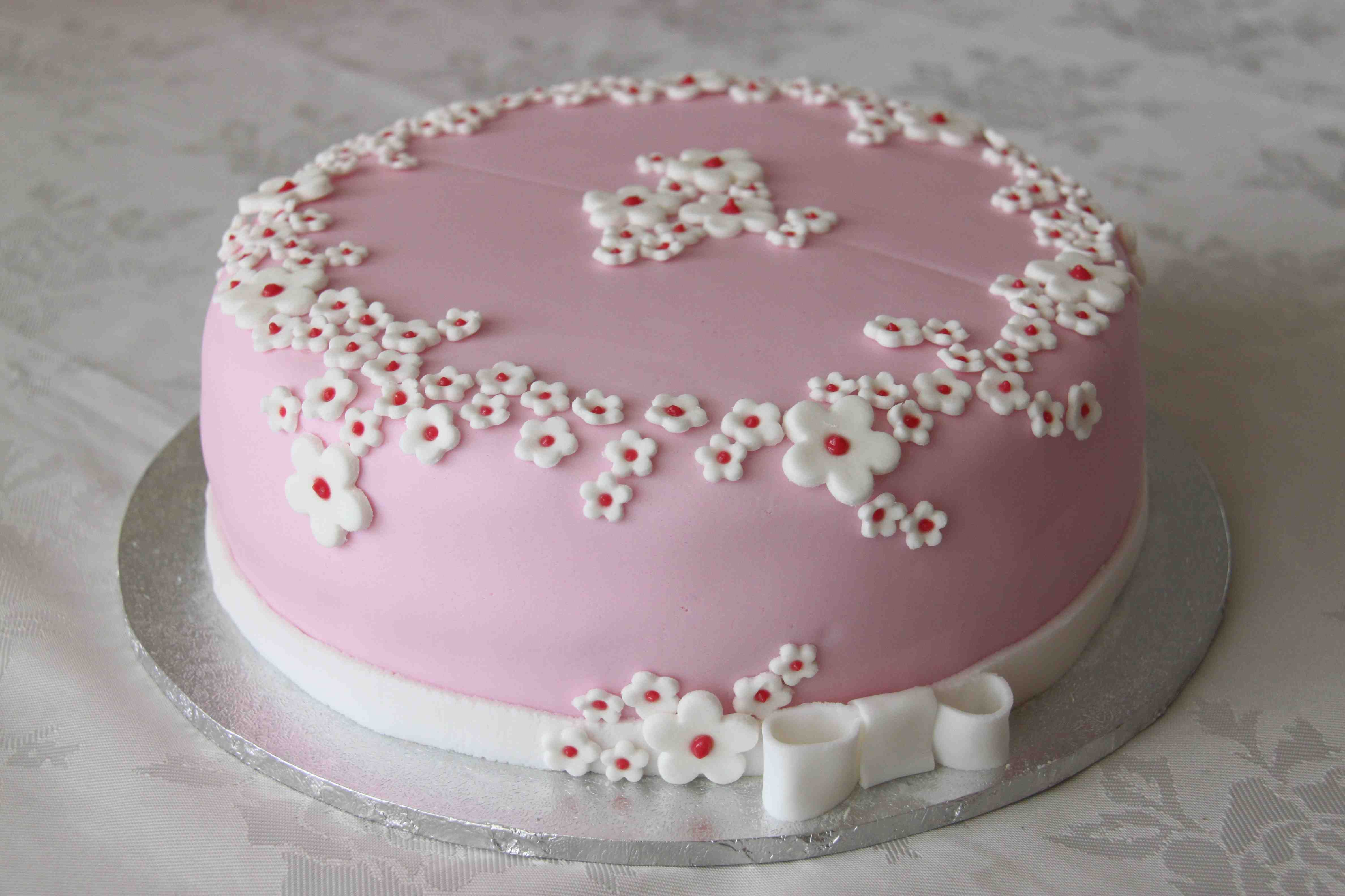 Pretty Flower Cake Mums 60th Birthday My Homemade Makes