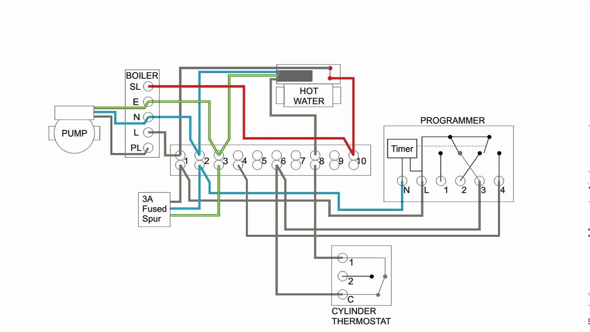 New Wiring Diagram For Central Heating Programmer Con Imagenes
