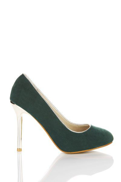 Golden Heel Shoes for £5 @ Everything5pounds.com