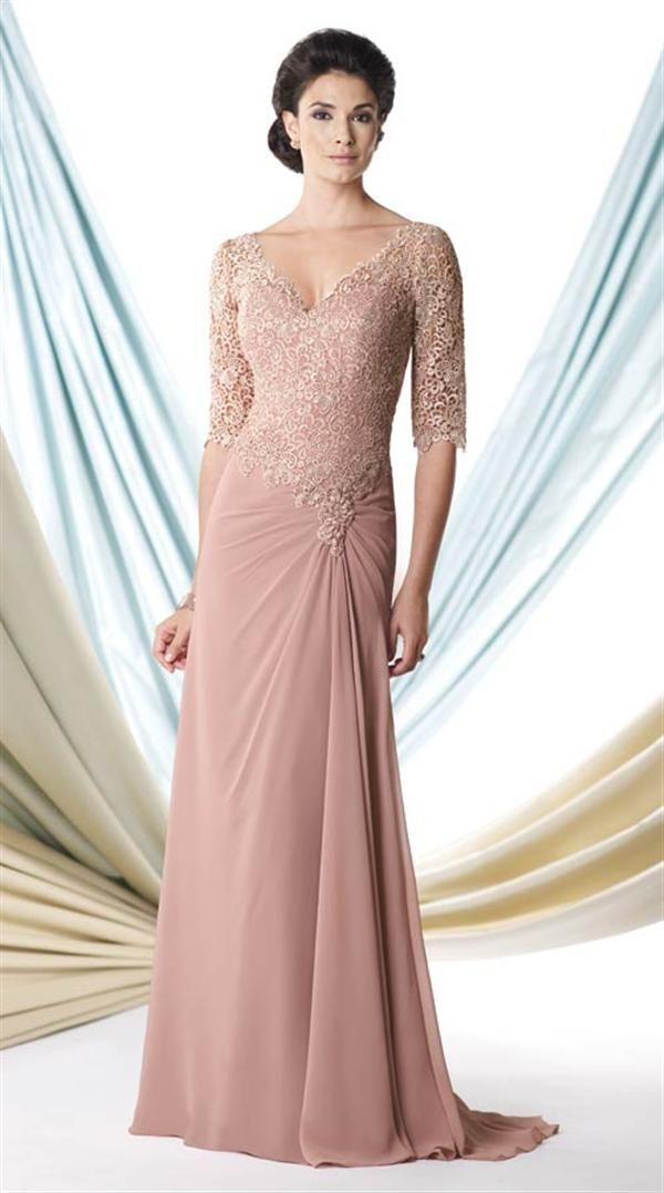 Beautiful Blush Rose Gown by Victorian Trading Co. | Vestidos de ...