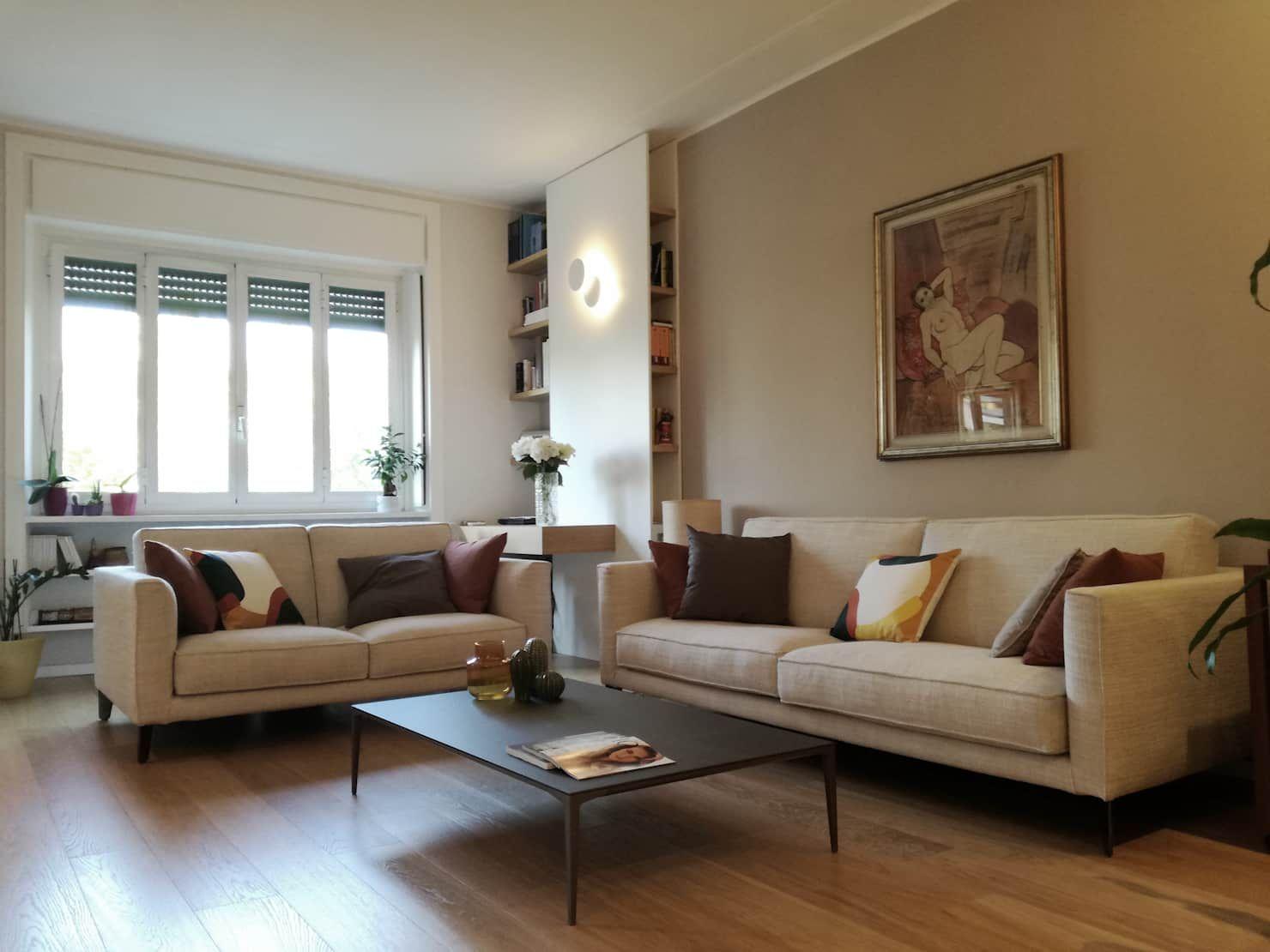 Classico moderno soggiorno classico di alma design
