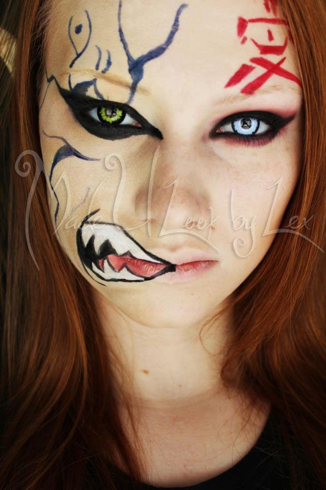Gaara From Naruto Www Facebook Com Madeulookbylex Alexys Fleming C Maquiagem De Anime Maquiagem Artistica Maquiagem