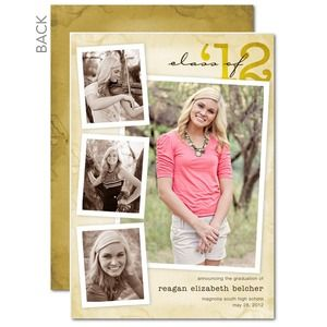 Graduation Announcements Graduation card ideas Pinterest