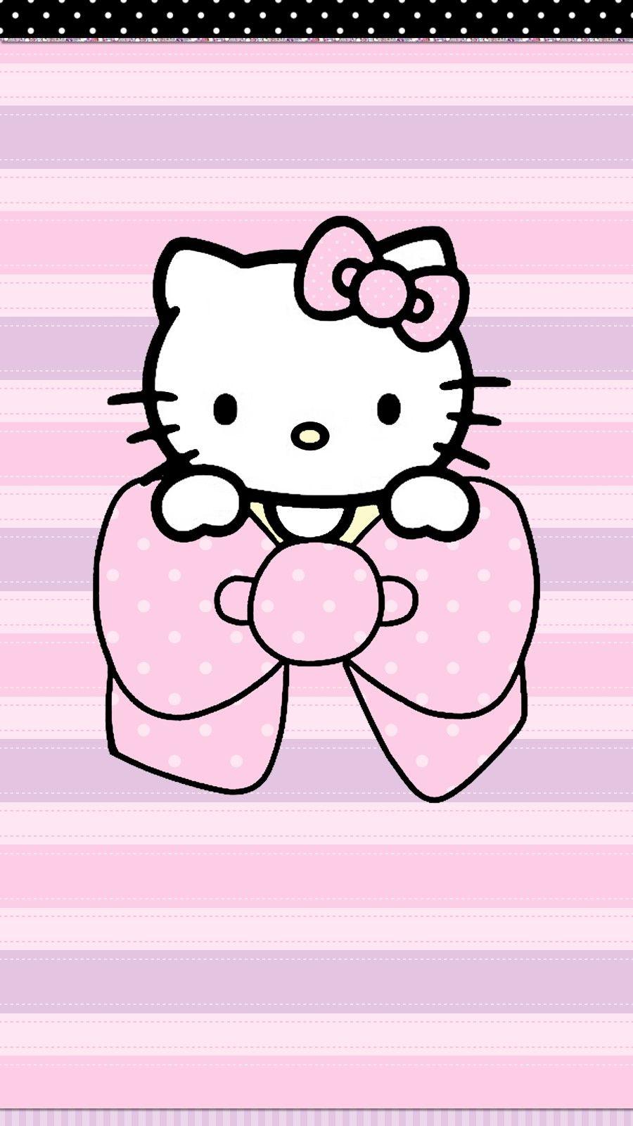 Pin By Keny H F On Cute Wallz Hello Kitty Pictures Walpaper Hello Kitty Hello Kitty Backgrounds