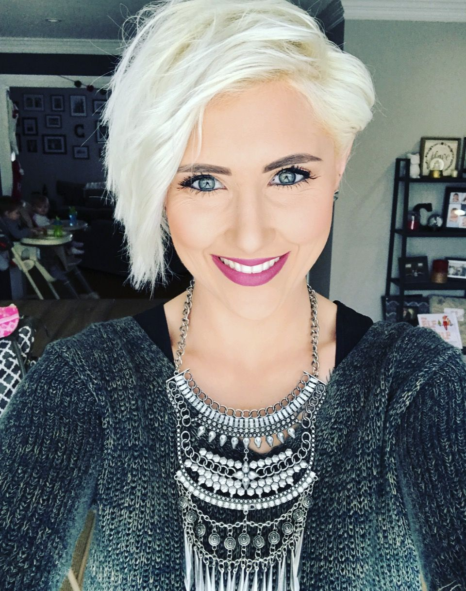 Which Hairstyle Is Best Platinum Pixie Pixie Hair And Hair Cuts