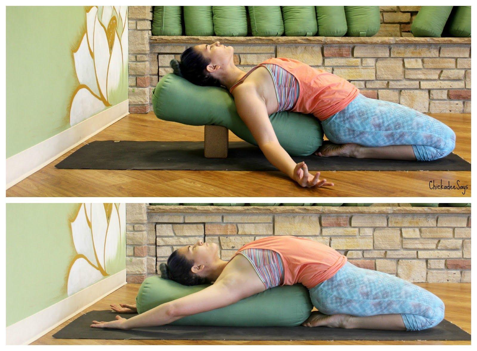 Chickadee Says: 8 Favorite Restorative Yoga Poses