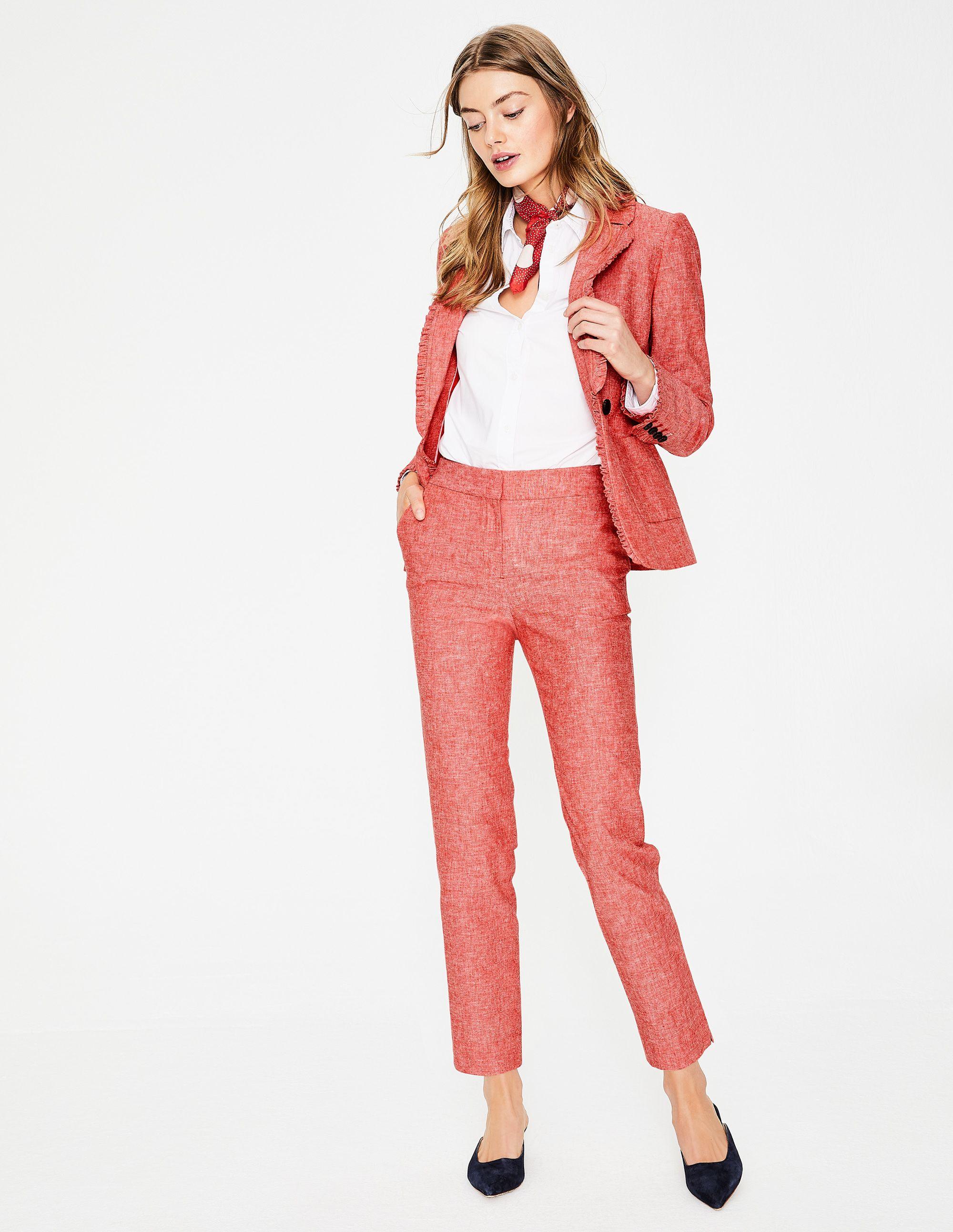 Boden Mina 7 8 Hose Damen Boden Rot Mode Ootd Outfit Fashion