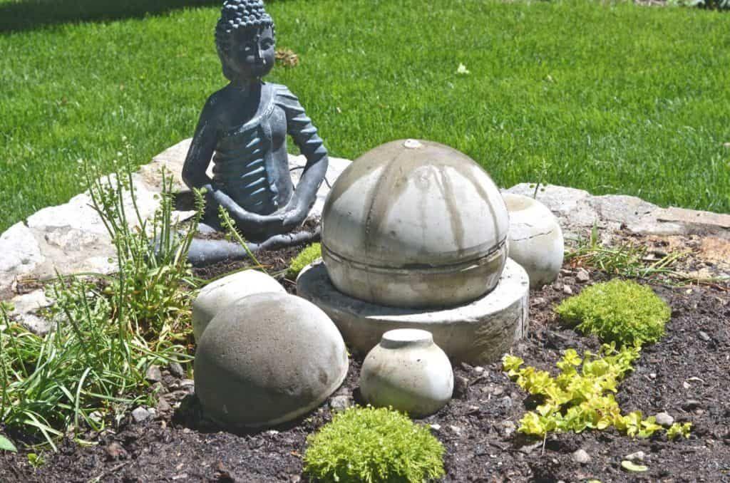 Diy garden fountain diy garden fountains concrete