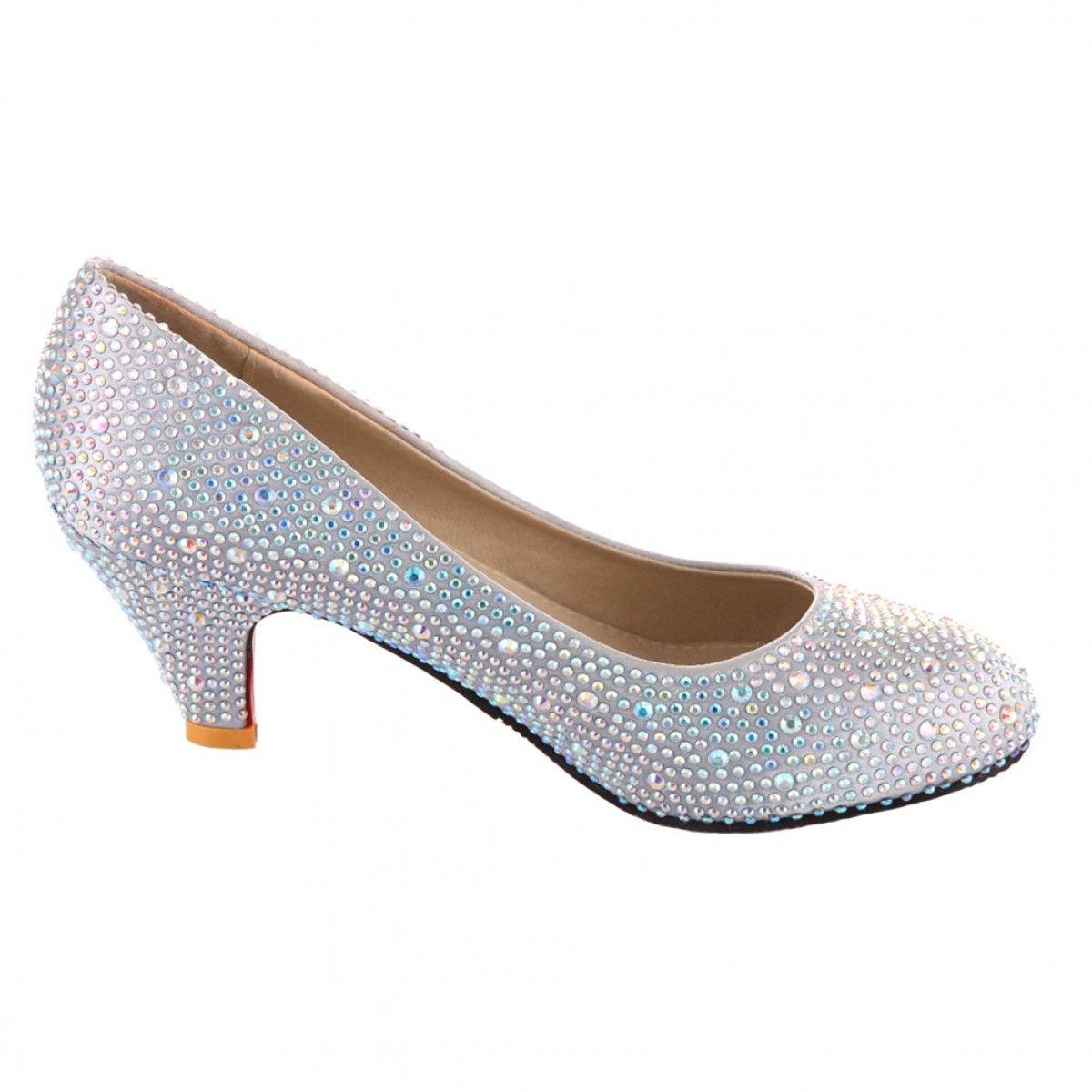 Velcans.com: VELCANS Discount Silver Crystal Rhinestone