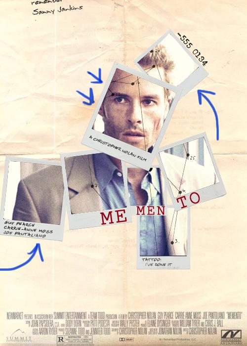 Memento, 2000, neonoir, psychological, thriller