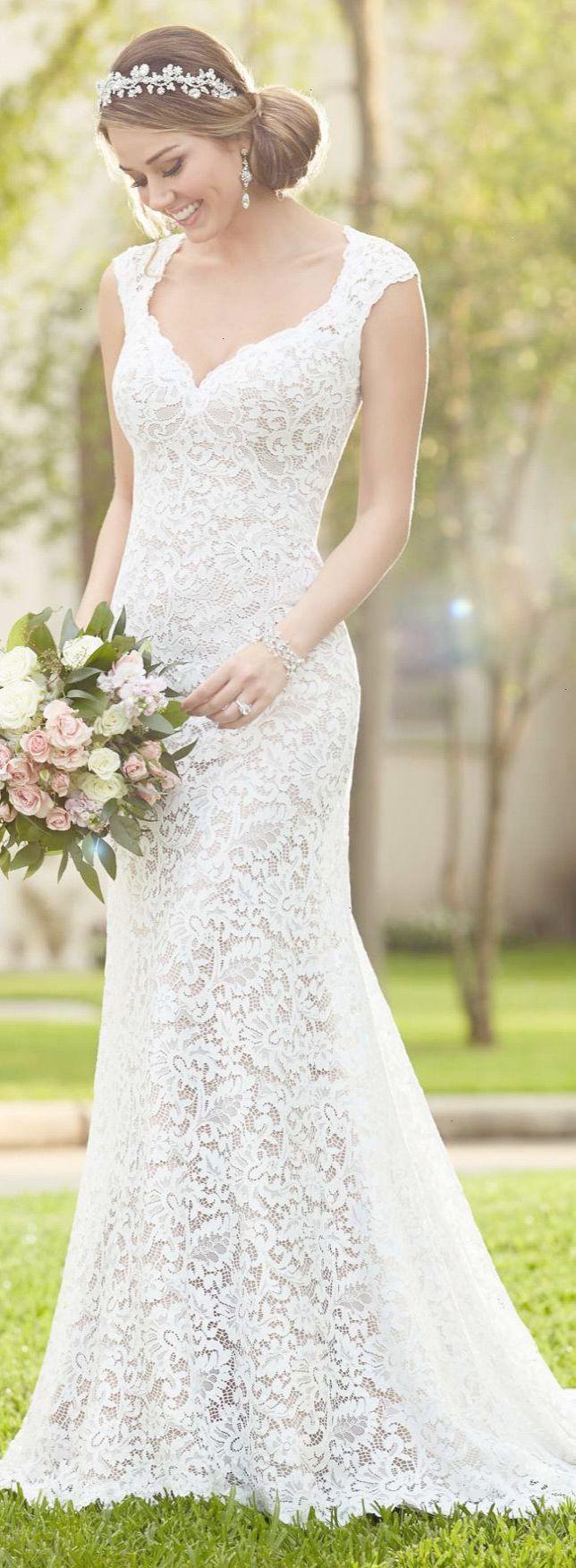 Stella york full lace wedding dress lace wedding dresses