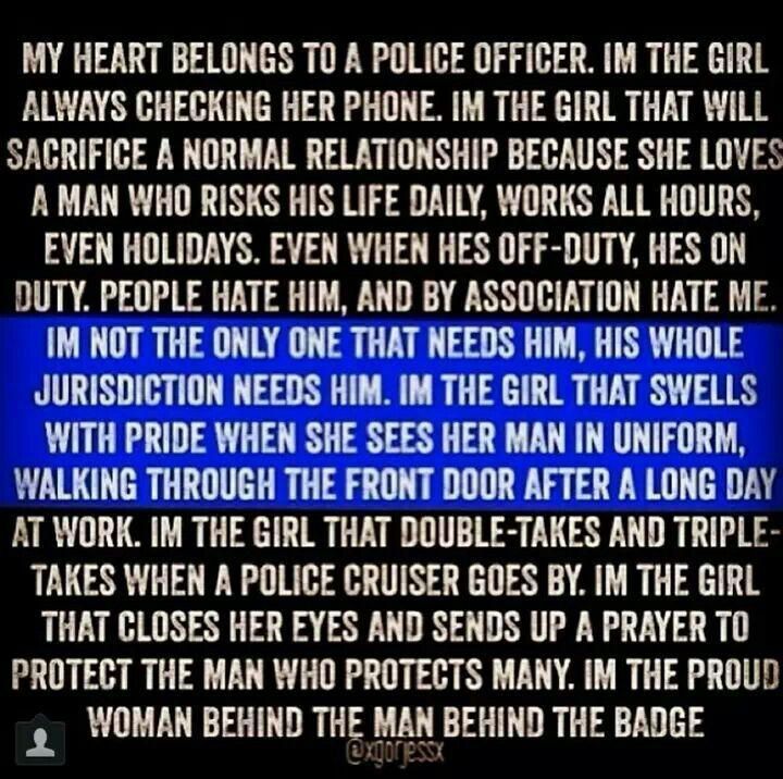 Dating a cop advice quotes