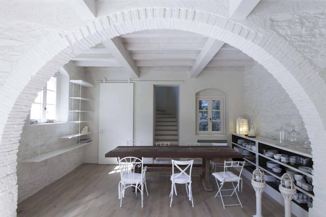 Tende soggiorno shabby chic cerca con google pareti for Piccola fattoria moderna