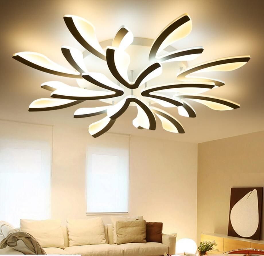 Modern Led Dandelion Acrylic Ceiling Lamp Pendant Lighting Bedroom