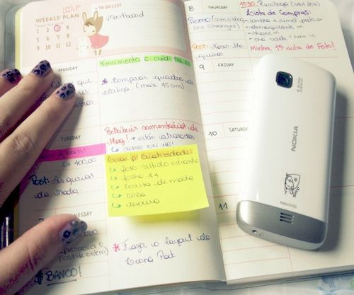 How To\u2026 Stay Organized Using a Planner Things Every College Girl - college planner organization