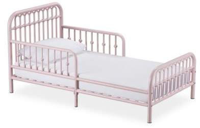 Best Little Seeds Monarch Hill Ivy Metal Toddler Bed In Pink 400 x 300