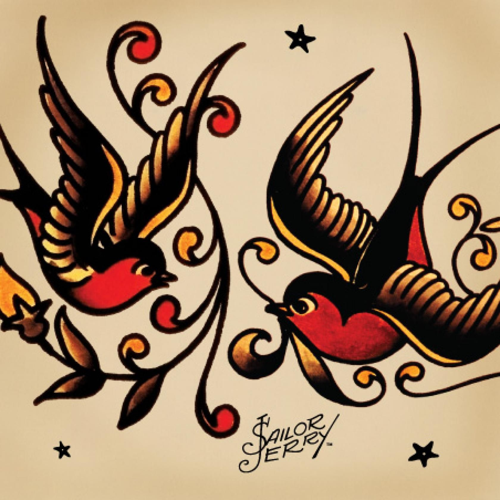 Tattoo Meanings - Swallows, Anchors, Sharks - Sailor Jerry ...