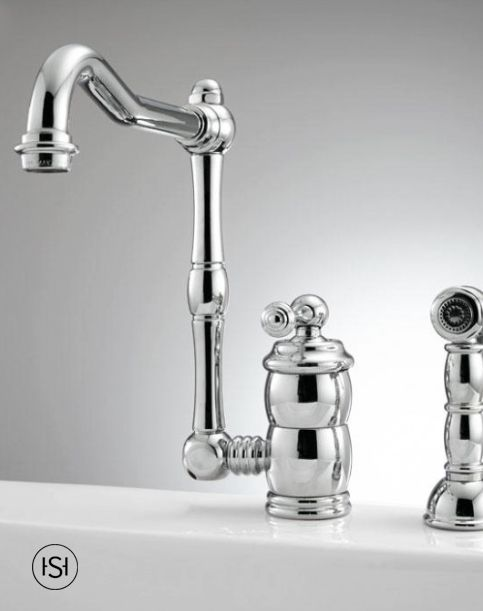 Mulder Singlehole Kitchen Faucet With Side Spray  Kitchen Fascinating Single Hole Kitchen Faucet Decorating Inspiration