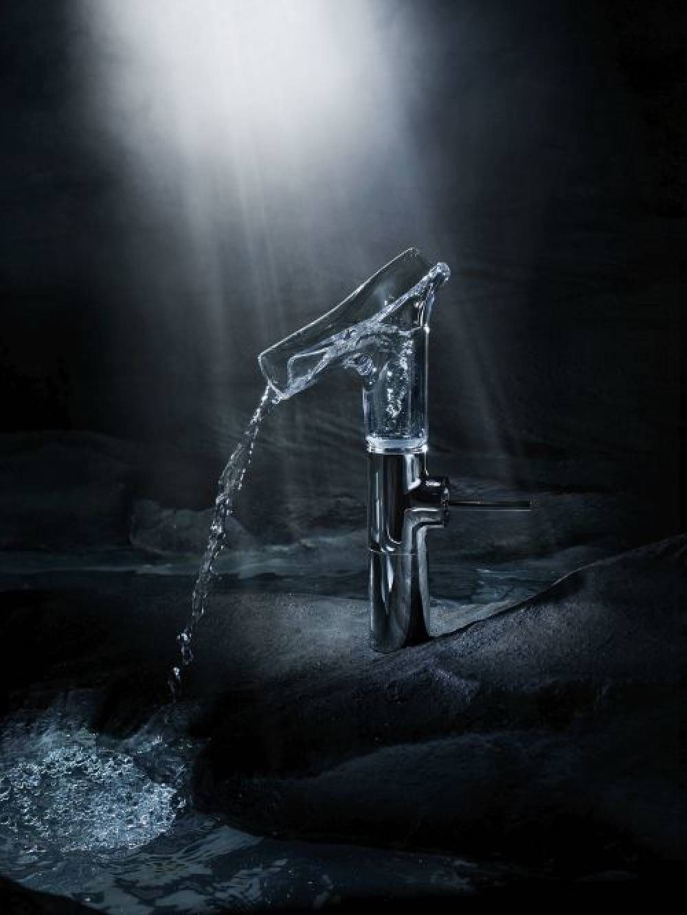 Axor Starck V Faucet Best Of Best Award For The Transparent Axor Starck V