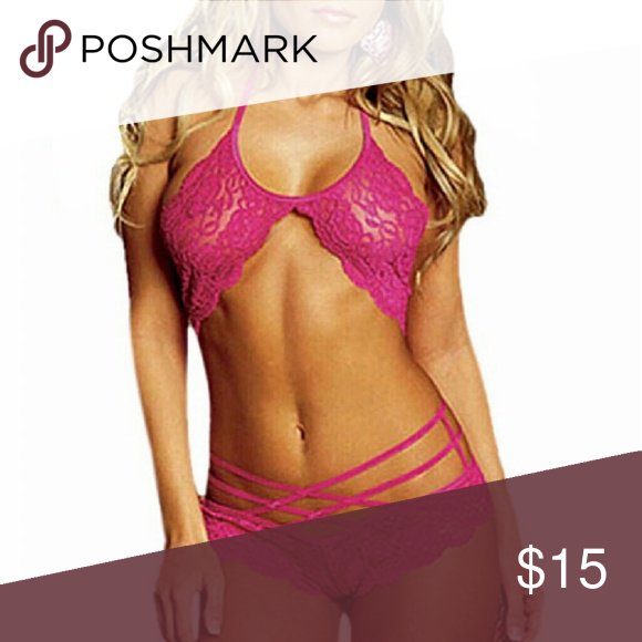 🔥Hot🔥 Temptress Lace Lingerie💋 One size fits most.   Hi Sweety! 😺 Thanks for looking at my closet! I always have some sort of sale going on and new items arrive weekly. Be sure to check back soon!!🎀❤💜  Happy Shopping!💄👗🎀👛 Intimates & Sleepwear Bras