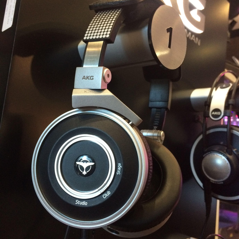 AKG Tiësto Series Headphones - The AKG by TIËSTO headphone