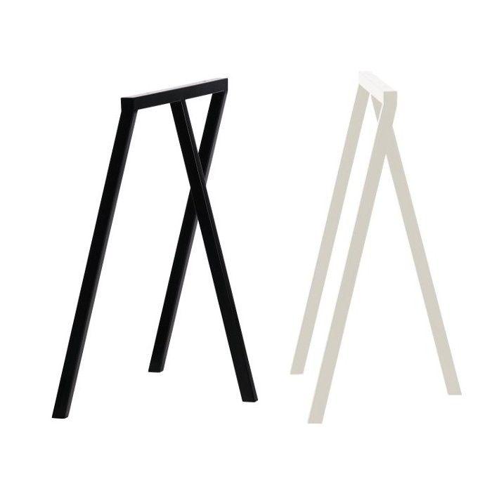 Hay Tischböcke hay loop stand frame tischböcke 2er set hay design and desks
