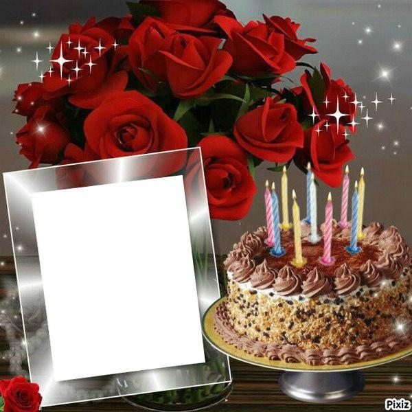 foto de Montage photo anniversaire Pixiz Happy birthday wishes