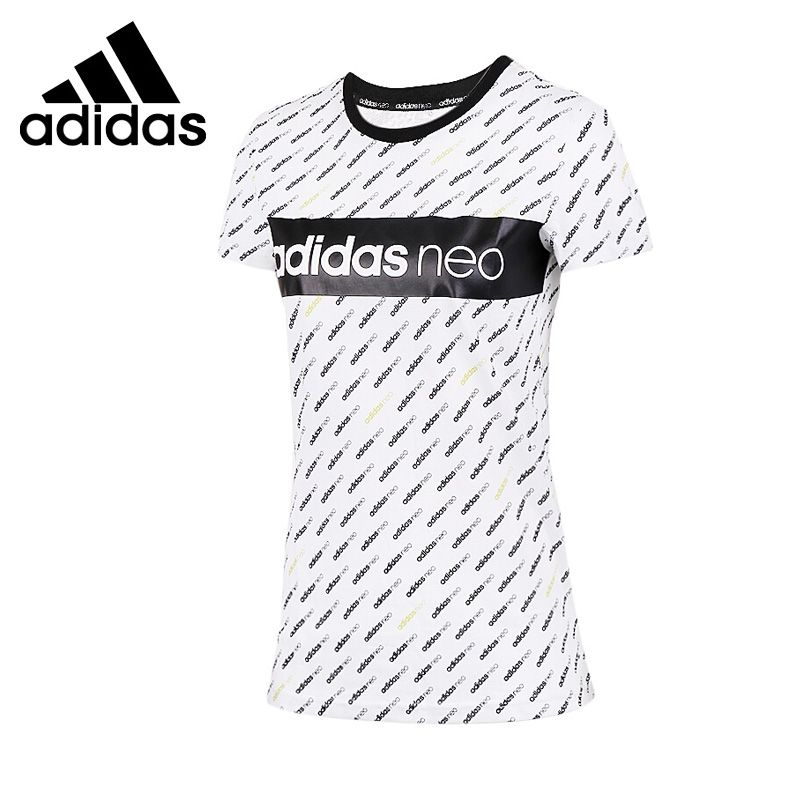 wholesale price good texture detailed pictures Original New Arrival 2017 Adidas NEO Label LOGO Women's T ...