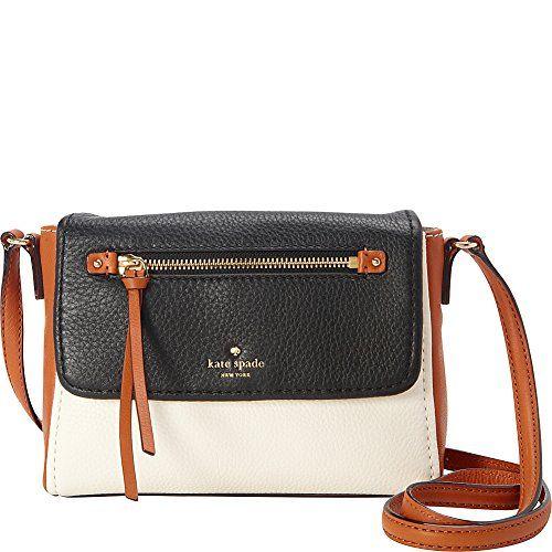 KATE SPADE NEW YORK Kate Spade New York Cobble Hill Mini Toddy Cross-Body Bag. #katespadenewyork #bags #shoulder bags #leather #lining